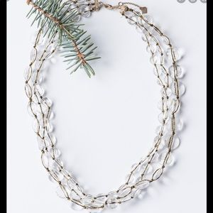Downeast Ice Crystal Multi-Strand Necklace NEW